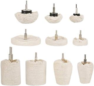 Roda amortecedora de polimento, roda de polimento, almofada de roda durável para joias de metal