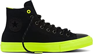 Chuck Taylor All Star II Shield Canvas Hi Black/Volt/Gum Lace up casual Shoes