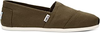Men's Classic Canvas Slip-On, Military Olive - 9 D(M) US