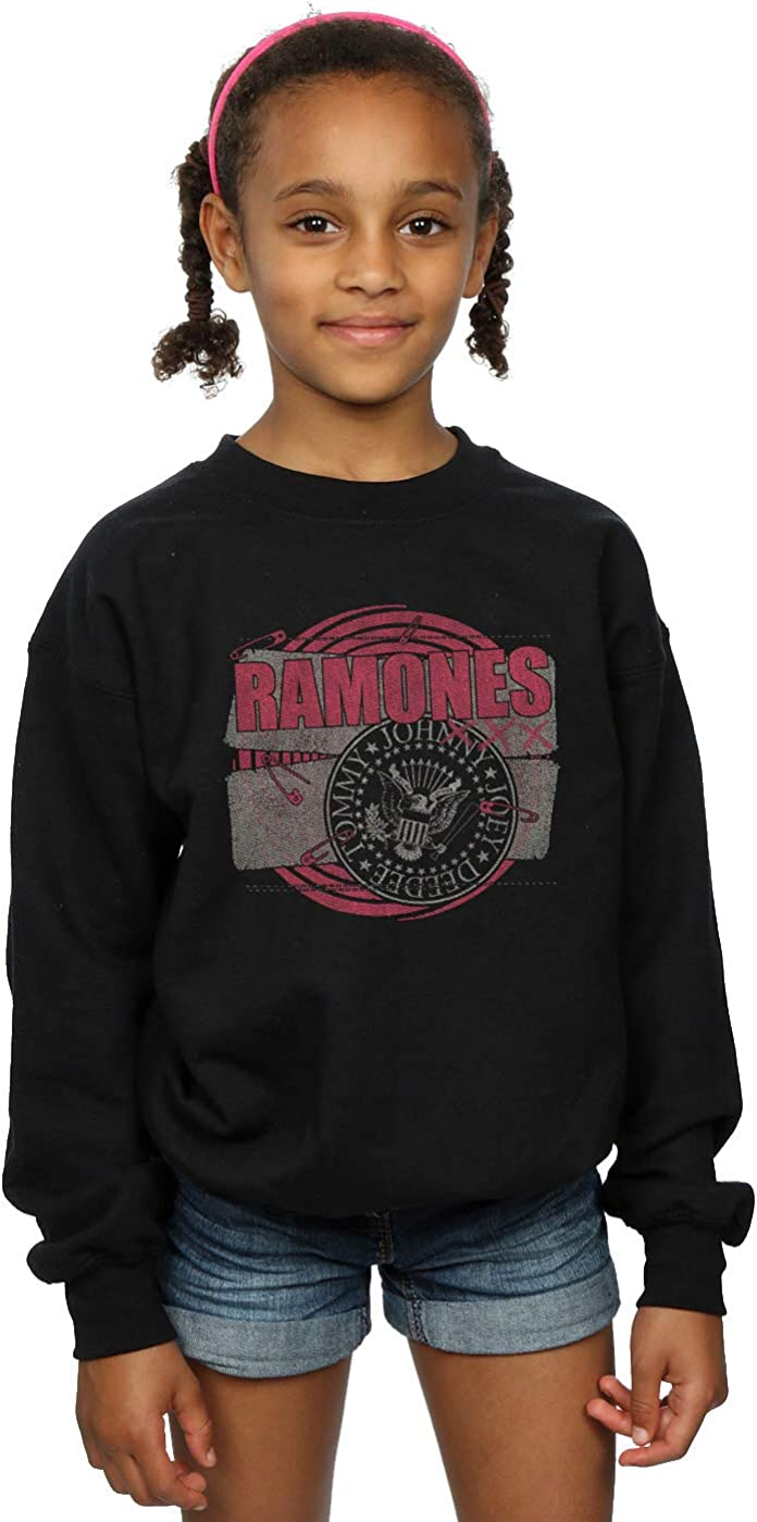 ABSOLUTECULT Ramones Girls Punk Patch Sweatshirt