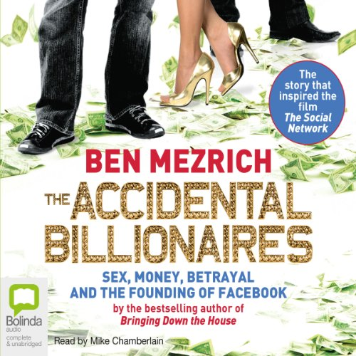 The Accidental Billionaires audiobook cover art