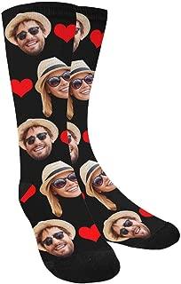 Best face photo socks Reviews