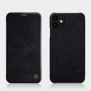 Nillkin Qin Flip Leather Case Cover For Apple Apple iPhone 11, Black