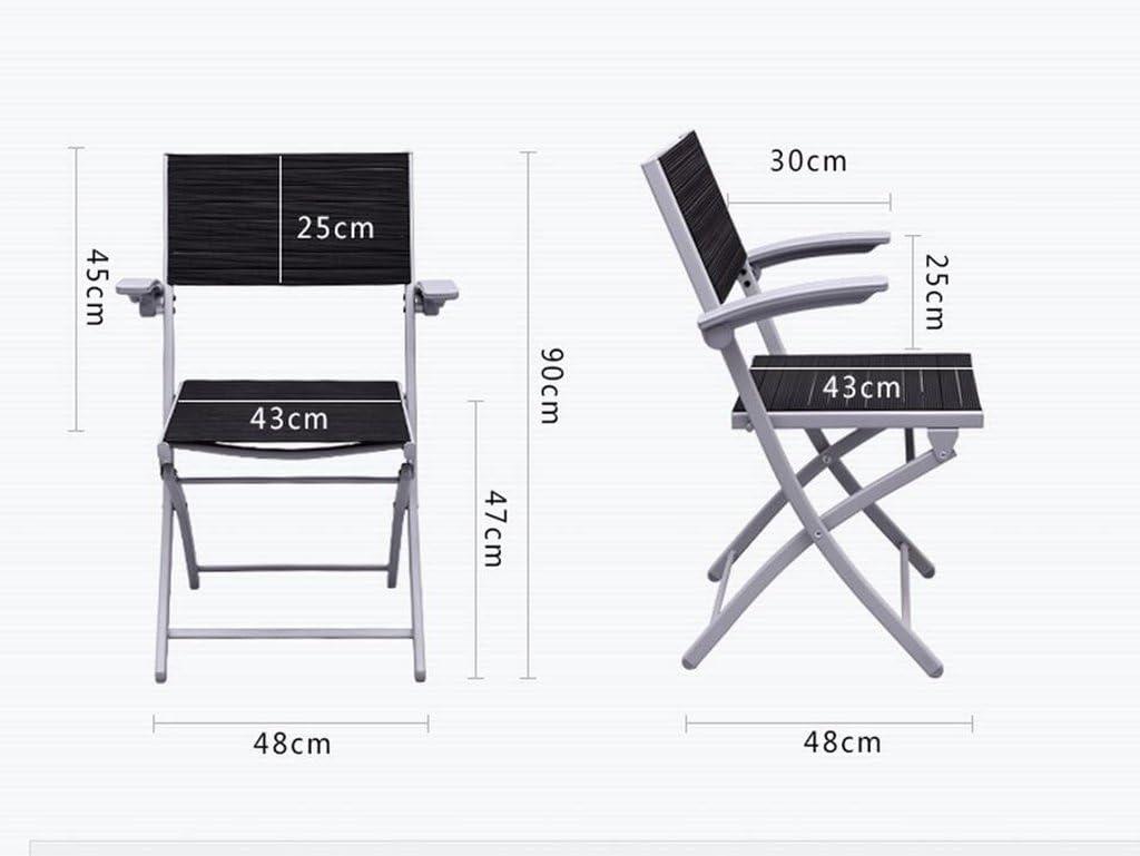 MXXYZ Chaise Pliante Chaises empilables Chaises Pliantes Chaises d'échecs Repose-Pieds pliants Chaises de Bureau Chaises de conférence Chaises de Formation (Color : Purple) Purple