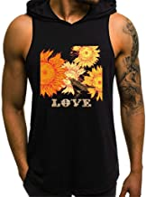IHGTZS Men's Tank Tops, Fashion Printing Style Design Sport Casual Shirts Sleeveless Tops Blouse