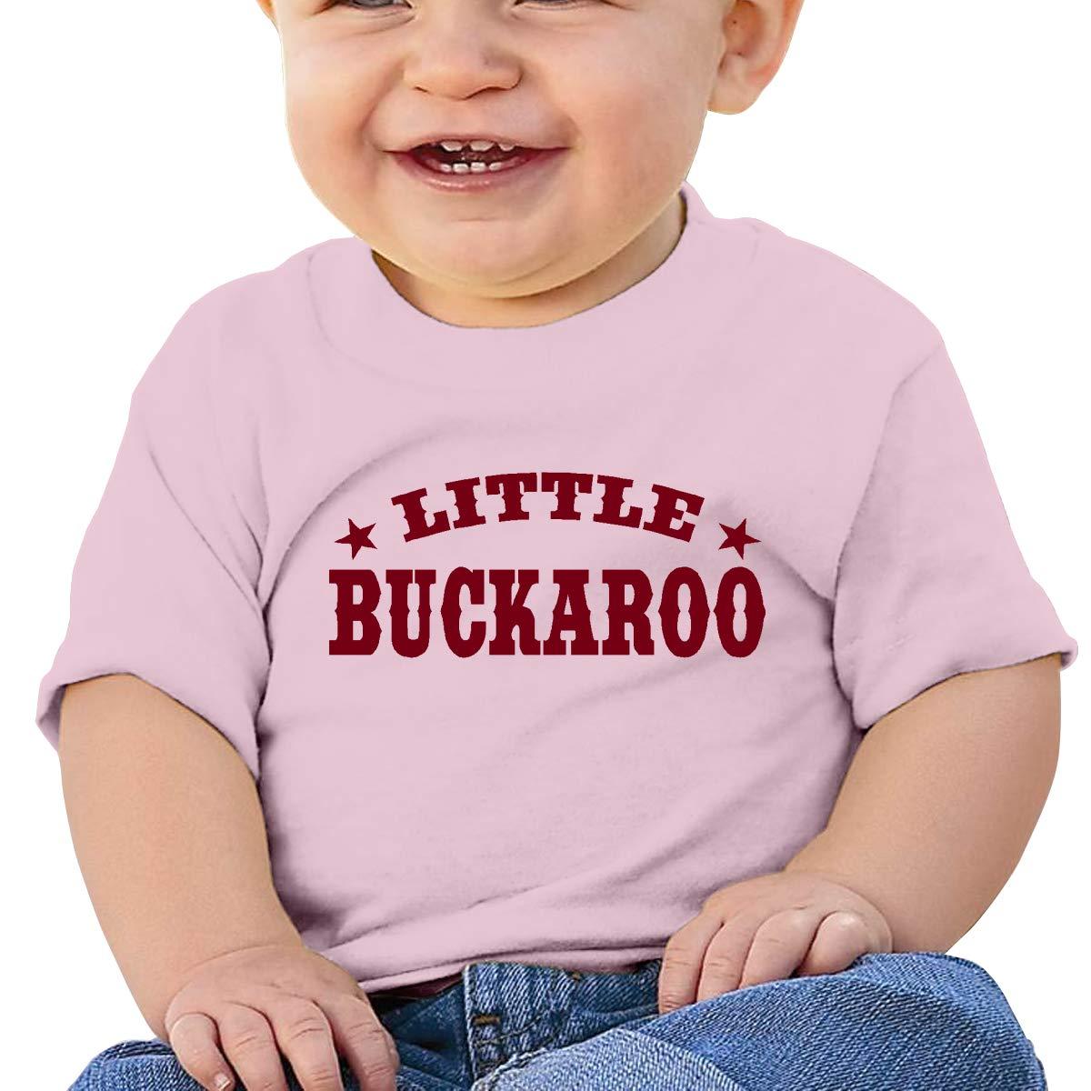 SDHEIJKY Little Buckaroo Baby Cotton Short Sleeve T-Shirt Cute Kids Top Blouse Shirts