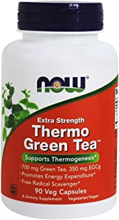 NOW Foods - Extra Strength Thermo Green Tea - 90 Vegetarian Capsules