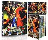 EMZOH Tarjetero Pokémon, Álbum de Pokemon Album Pokemon, Álbum de Cartas Coleccionables Pokémon, Album Pokemon Cartas , 30 Páginas, hasta 240 Tarjetas (Decisive Battle)