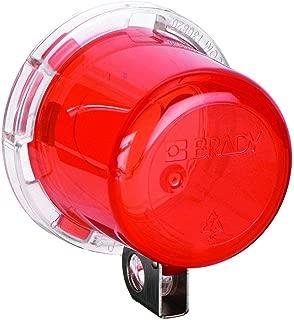 Brady 130820 Push Button Lockout Base, Plastic, 22 mm
