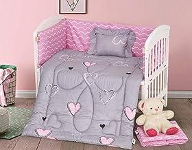 5-Piece Baby Collection Crib Bedding Set-Lucas-017