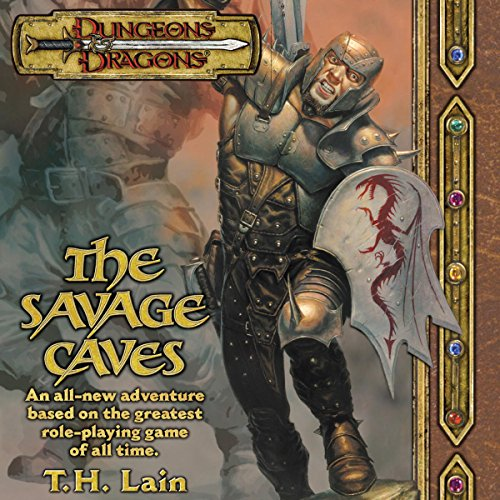 The Savage Caves audiobook cover art