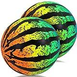 POKONBOY PoolToysSwimmingPoolGamePoolBallforUnderWaterPassing,Dribbling,DivingandPoolGamesforKids,Teens,Adults, BallFillswithWater (Rainbow2Pack)