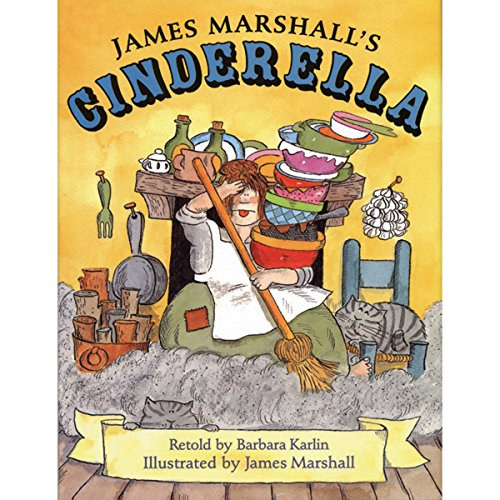 Cinderella, James Marshall's  By  cover art
