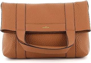 Luxury Fashion   Hogan Womens KBW016C0200KBCC801 Brown Handbag   Fall Winter 19