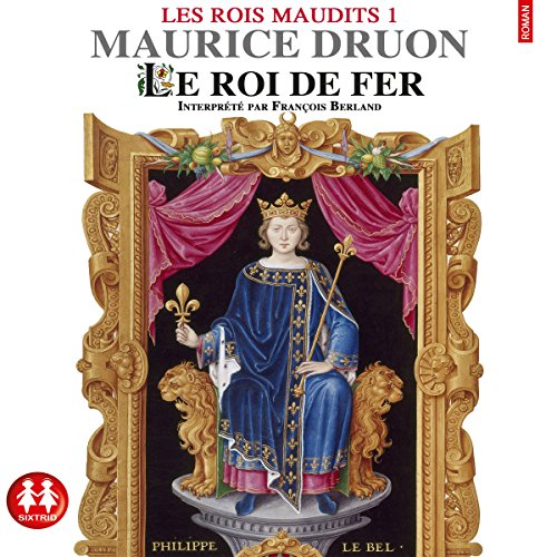Le roi de fer audiobook cover art