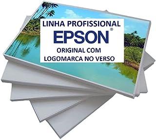 Papel Fotográfico Original Epson 10x15 Contendo 150 Folhas Brilhante, Contém logomarca Epson No Verso (10x15)