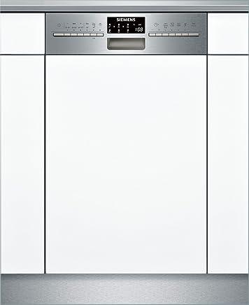 A+++ AquaStop 10 MGD Siemens SR46T598EU iQ500 Unterbaugeschirrsp/üler DosageAssist 2660 L//Jahr 188 kWh//Jahr