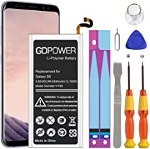 Sponsored Ad - Galaxy S8 Battery, GDPower 3300mAh High Capacity 0 Cycle Battery EB-BG950ABE Replacement for Samsung Galaxy...