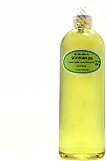 Soybean OIL Pure SOY OIL Cold Pressed Organic 16 Oz / 1 Pint