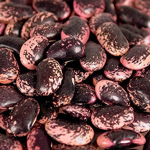Deli-Vinos Legumes Bohnen, Käferbohnen, groß, rot-schwarz-violett, getrocknet, aus Österreich, 1 kg