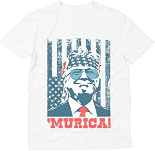 Donald Trump 2020 Shirt Murica 4th of July Patriotic American Party USA T-Shirt