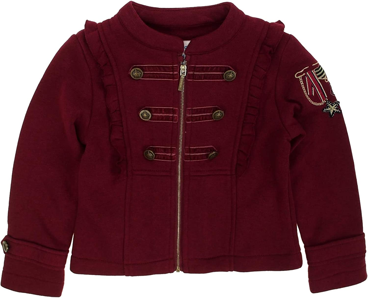 Mayoral - Fleece Jacket Soldering for Special Campaign 4480 Girls Raspberry