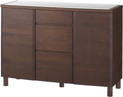 家具 収納 キッチン収納 食器棚 キッチンストッカー 食品ストッカー アルダー天然木アールデザインシリーズ カウンター 幅120cm 588028(サイズはありません ア:ナチュラル)