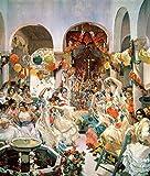 Kunst für Alle Impresión artística/Póster: Joaquin Sorolla y Bastida Seville - Impresión, Foto, póster artístico, 85x100 cm