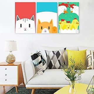 Jolyhui Series Paintings Home Deco 12in16in 3Piece Modern Landscape Artwork