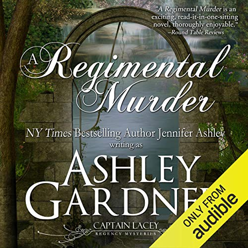 A Regimental Murder Audiobook By Ashley Gardner, Jennifer Ashley cover art