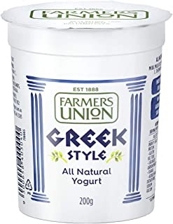 Farmers Union Natural Greek Style Yoghurt, 500g - Chilled