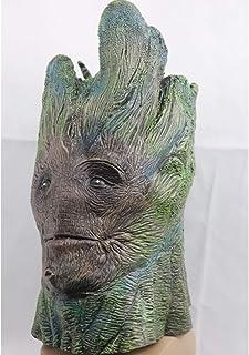 RGZZGAQM Máscara de Juego de Tronos de Halloween Noche Rey Cara Noche Re Máscara de látex para adultos Cosplay Trono disfraz de fiesta máscara