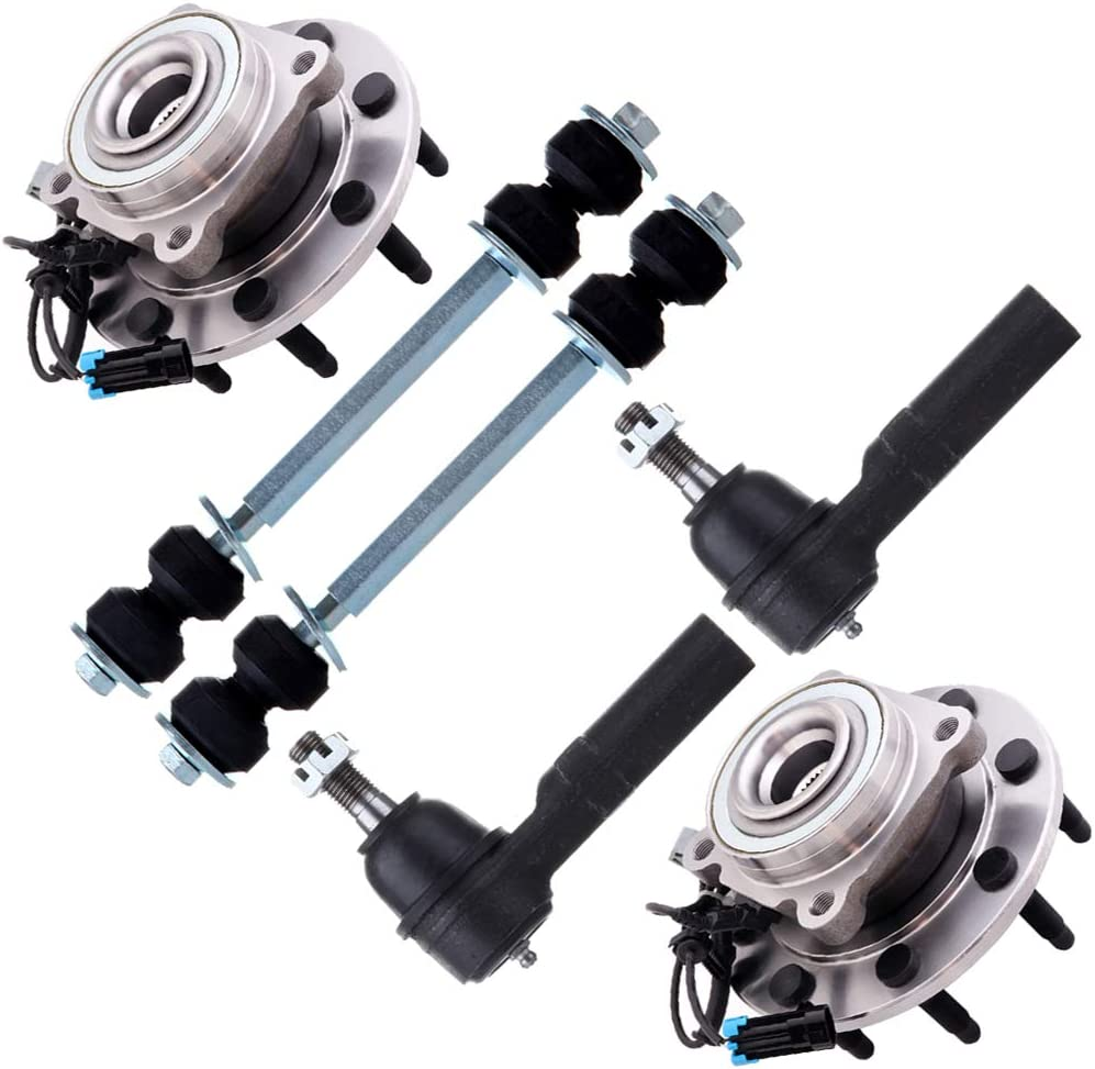 Spring new work one after another SCITOO 6pcs Suspension Kit 2 Front Tie Link Sway Outer End Free shipping on posting reviews Bar