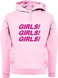 Girls Girls Girls - Unisex Hoodie/Hooded Top - 12 Colours