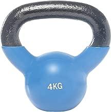 Vinyl Dipping Kettlebell - 4 kg, Blue