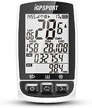 iGPSPORT Ordenador GPS para bicicleta con pantalla grande con función ANT+ iGS50E inalámbrico de ciclo, resistente al agua