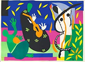 Henri Matisse - Sorrow of The King, Size 24x32 inch, Gallery Wrapped Canvas Art Print Wall décor