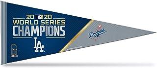 "Rico 2020 Los Angeles Dodgers World Champions Pennant   12""x30"" Colorful Felt   Baseball Fan Pennant"