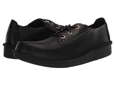 Clarks Trek Veldt (Black Leather) Men