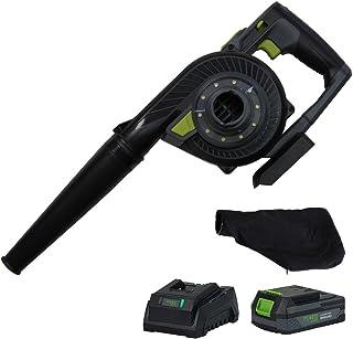 ミナト 18Vコードレス 充電式ブロワバキューム BLE-1820Li (リチウム電池+充電器+ダストバッグ付き)