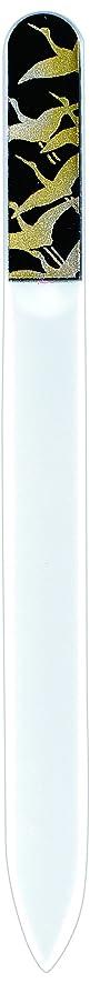 スケルトンセンター王室橋本漆芸 ブラジェク製高級爪ヤスリ 千羽鶴 紙箱