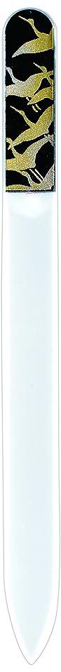 衣類麺レタス橋本漆芸 ブラジェク製高級爪ヤスリ 千羽鶴 紙箱