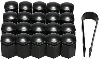 mewmewcat Conjunto de tampas de plástico para parafusos de porca de roda de carro de 20 unidades de 17 mm