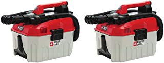 PORTER-CABLE PCC795B 20V MAX Wet/Dry Vacuum (Tool Only), 2 Gallon (Pack of 2)