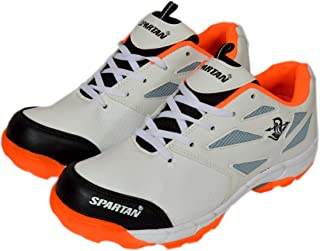 Spartan Plus Orange Cricket Shoes for Men