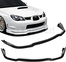 GTSpeed Made for 06-07 Subaru Impreza WRX STi CS2 Style Front PU Bumper Add on Lip