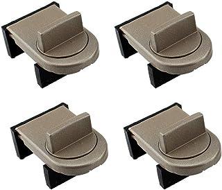Zeltauto Adjustable Door Window Lock Stopper Child Safety Security Lock Wedge for Sliding Window (4)