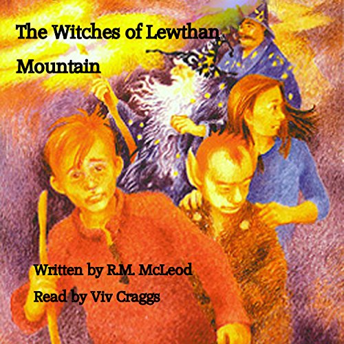 The Witches of Lewthan Mountain audiobook cover art