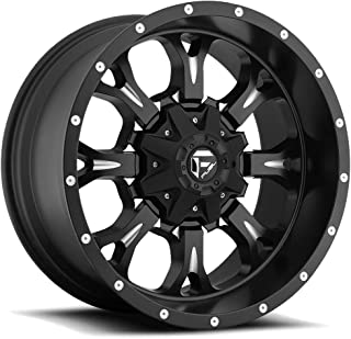 Fuel Krank 20x10 Black Wheel / Rim 6x135 & 6x5.5 with a -24mm Offset and a 106.40 Hub Bore. Partnumber D51720009845