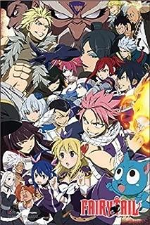Buyartforless Fairy Tale Group 36x24 Anime Art Print Poster Japanese Animated Series Show